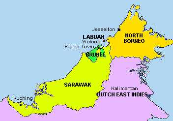British Borneo; Click to see new names